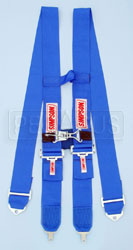 Click for a larger picture of Simpson Camlock H-Type Harness w/Sternum Latch, 75""