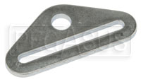 "Click for a larger picture of 3"" Flat Bolt-in End Plate with 1/2"" Hole"