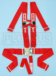 Click for a larger picture of Simpson 5-Point F/X Latch Harness w/Sternum, Blue, Old Date