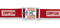 Click for a larger picture of Latch F/X Lap Belt, Snap-In, Pull-Down, Red