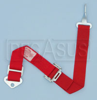 Click for a larger picture of Simpson Latch & Link Adjustable Sub Strap, Red, Old Date