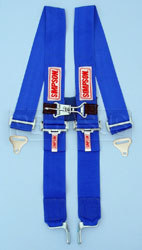 Click for a larger picture of Latch&Link Shoulder Harness w/Sternum Latch, Blue, Old Date