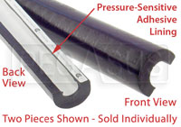 "Click for a larger picture of SFI Roll Bar Padding for 1.62 to 2.00"" Bar, 3 foot length"