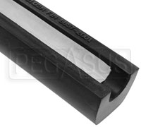 "Click for a larger picture of FIA Roll Bar Padding for 1.125""-1.625"" Bar, 3FT Length Black"