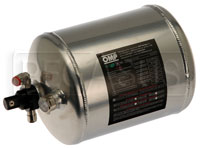 Click for a larger picture of (H) OMP Aluminum Bottle Only for 2.8L Elec System, End Valve