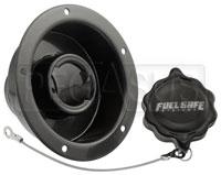 "Click for a larger picture of Fuel Safe 2.25"" Recessed Fender Filler Only"