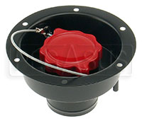 "Click for a larger picture of Fuel Safe 2.25"" Recessed Fender Filler Only"