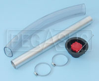 "Click for a larger picture of Fuel Safe 2.25"" Recessed Fender Filler Kit"