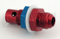 Click for a larger picture of Fuel Cell Vent Check Valve, 8AN Bulkhead Fitting