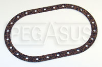 Click for a larger picture of Fuel Safe Large Oval Gasket, 24 Bolt, 6 x 10 inch