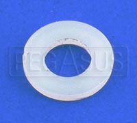 Click for a larger picture of Nylon Washer for Fuel Cell Bolts, 0.25 ID x 0.50 OD