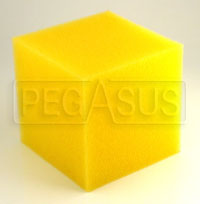 Click for a larger picture of 2 Gallon Fuel Cell Foam Cube (8 x 8 x 8 inches)