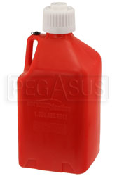 Click for a larger picture of Scribner 5 Gallon Square Utility Jug with Heavy-Duty Cap
