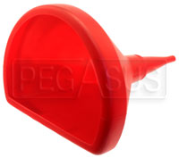 Click for a larger picture of 14 inch D-Shaped Anti-Swirl Funnel