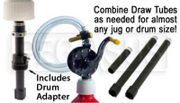 Click for a larger picture of Flo Fast Combination Drum & 5 Gallon Jug Pump