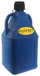Click for a larger picture of 7.5 Gallon Blue Utility Jug for Flo-Fast Pump Systems