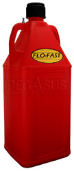 Click for a larger picture of 10.5 Gallon Red Utility Jug for Flo-Fast Pump Systems