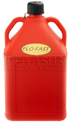 Click for a larger picture of 15 Gallon Red Utility Jug for Flo-Fast Pump Systems