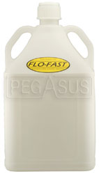 Click for a larger picture of 15 Gallon Translucent White Utility Jug for Flo-Fast Systems