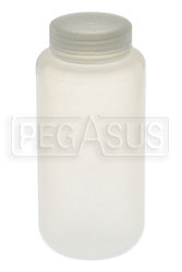 Click for a larger picture of 1 Quart Hi-Temp Plastic Catch Bottle
