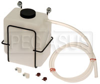 Click for a larger picture of Universal Square Catch Can / Expansion Tank Kit, 2 Quart