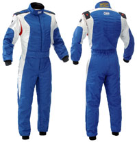 Click for a larger picture of OMP Dart Suit, 2 Layer Nomex, FIA 8856-2000