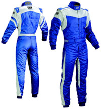 Click for a larger picture of OMP Dynamo Race Suit, 2 Layer Nomex, FIA 8856-2000 Save $330