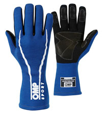 Click for a larger picture of OMP Sport Line Gloves, SFI 3.3/5 and FIA 8856-2000