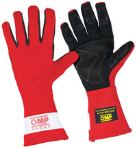 Click for a larger picture of OMP Sport Line Gloves, Traditional Style, SFI 3.3/5 and FIA
