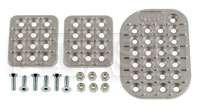 Click for a larger picture of OMP Cast Aluminum Pedal Pad Kit, Wide Throttle