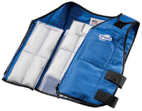 Click for a larger picture of TechKewl Phase Change Cooling Vest