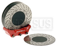 Click for a larger picture of Brake Disc Coaster Set (6 pieces)