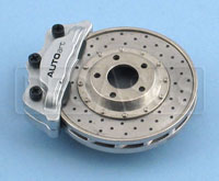 Click for a larger picture of Brake Disc Magnet- Silver Caliper