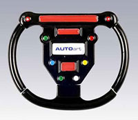 Click for a larger picture of F1 Steering Wheel Keyring