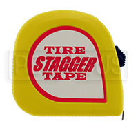 Click for a larger picture of E-Z Read Tire Stagger Tape