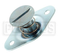 Click for a larger picture of Self-Eject 1/4 Turn Stud Assembly, 5/16 Dia x 0.72 Length