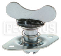 Click for a larger picture of Self-Eject Wing-Head Stud Assembly, 5/16 Dia x 0.72 Length