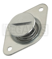 Click for a larger picture of Self-Eject 1/4 Turn Stud Assembly, 3/8 Dia x 0.56 Length