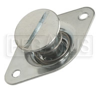 Click for a larger picture of Self-Eject 1/4 Turn Stud Assembly, 3/8 Dia x 0.76 Length