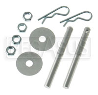 Click for a larger picture of 3/8 inch  Aluminum Hood Pin, Set of 2
