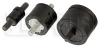 Click for a larger picture of Rubber Shock Mount, 10-32 UNF Male Threads