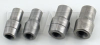 "Click for a larger picture of Weldable Tube End, 5/16-24 Thread - .058"" Wall"