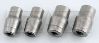 Click for a larger picture of Weldable Tube End, 3/8-24 Thread