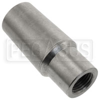 "Click for a larger picture of Weldable Tube End, 1/2-20 Thread x .065"" Wall"