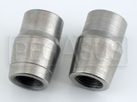 """Click for a larger picture of Weldable Tube End, 5/8-18 Thread x .065"""" Wall"""