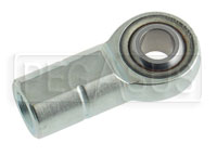 Click for a larger picture of Alloy Steel Metric Rod End, Female Thread Shank, PTFE Lined
