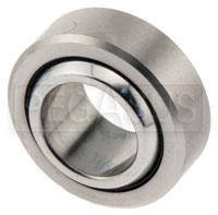 Click for a larger picture of Spherical Bearing, Heat Treated Race,  1/2 x 15/16