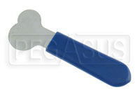 Click for a larger picture of Flat Blade Style Tool for Flat Head Quarter-turn Studs
