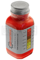 Click for a larger picture of Temperature Indicating Brake Paint, 1 ounce Brush-in-Cap Jar
