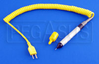 Click for a larger picture of Longacre Replacement Tire Probe with Coiled Cord